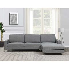 Connor 3 Seater Sofa Lounge with Chaise  Rental Lifestyle Image