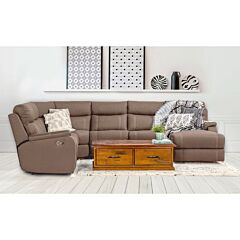 Porter 6 Seater Modular Lounge Rental with sofa bed Rental in Clay Lifestyle image