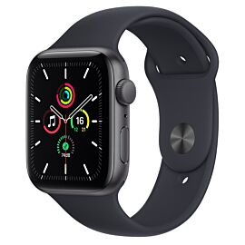 Apple Watch SE GPS 40mm Silver Aluminium Case with Abyss Blue Sport Band